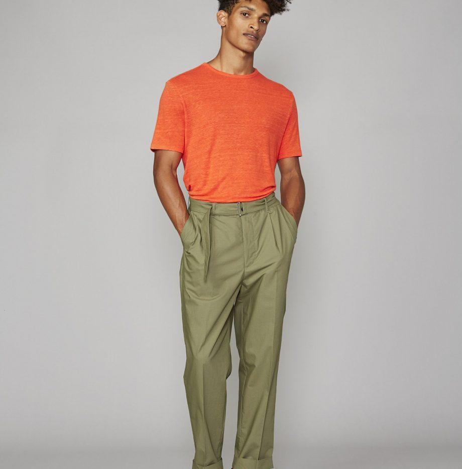 Tee-Shirt_Lin_Officine_Générale_Orange_4