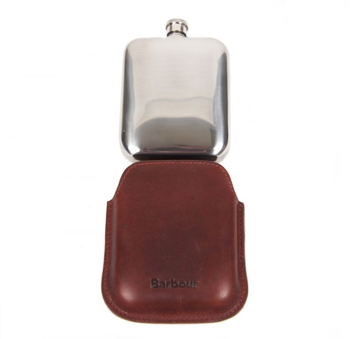 Flask_Barbour_Wax_Leather_Brown