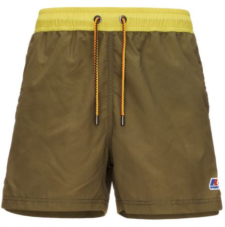 Short de Bain Hazel Bicolor K-way Green Dark Olive