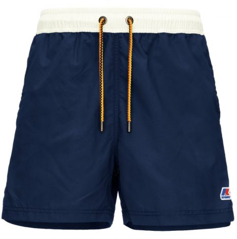 Short de Bain Hazel Bicolor K-way Blue Depht / White