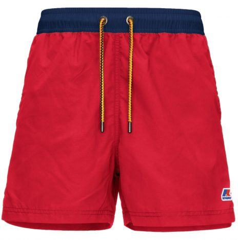 Short de Bain Hazel Bicolor K-way Red-Dept Blue