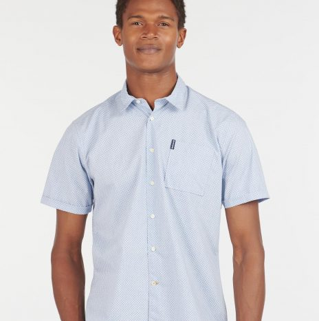 Summer Print 9 Chemise Manches Courtes Barbour Chambray