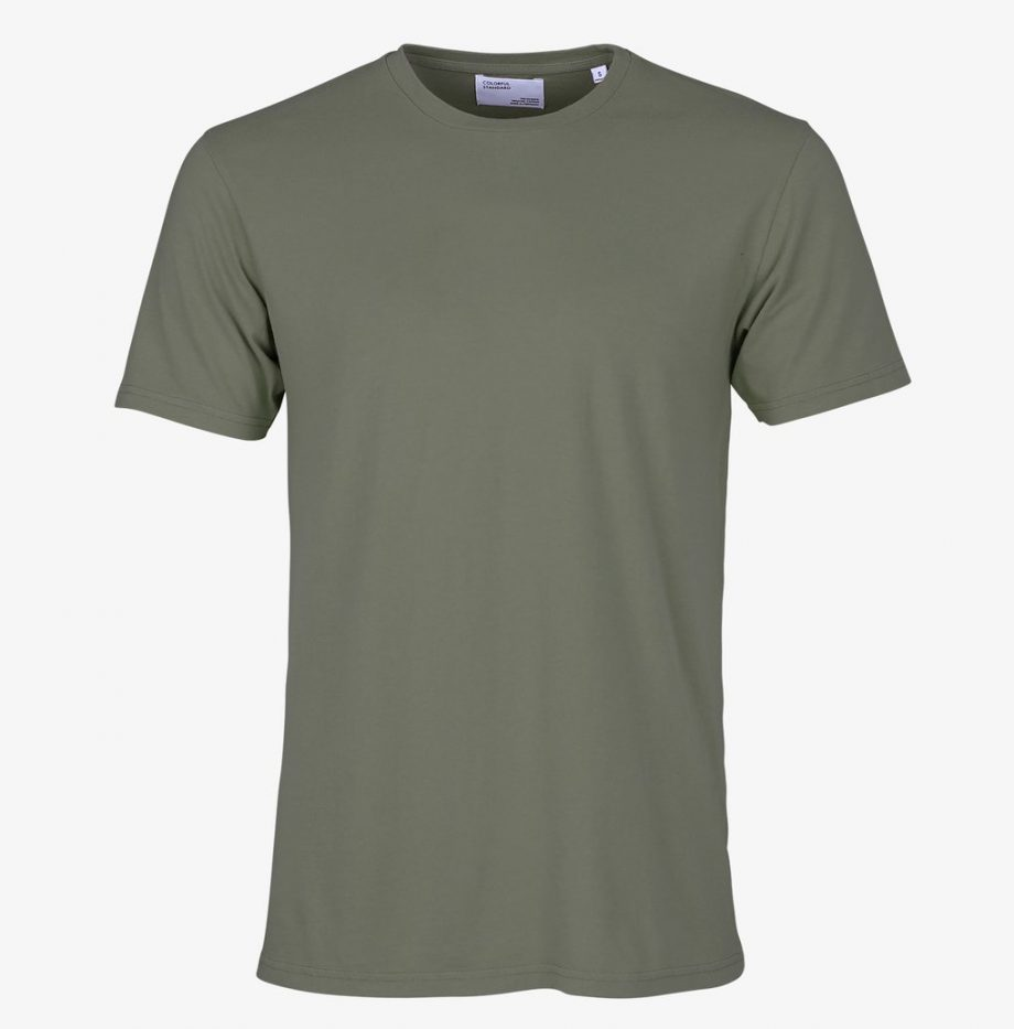 Tee-Shirt Classic Organic Colorful Standard Dusty Olive