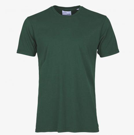Tee-Shirt Classic Organic Colorful Standard Emerald Green