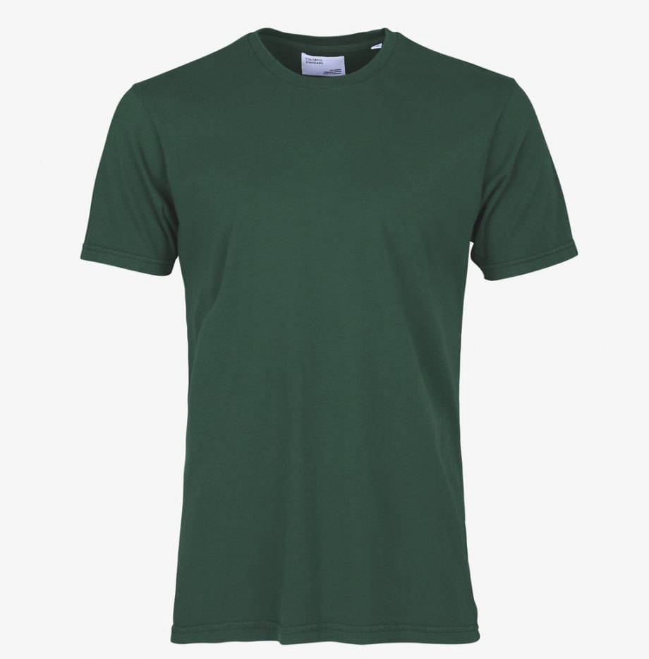 Tee-Shirt Classic Organic Colorful Standard Emerald Green