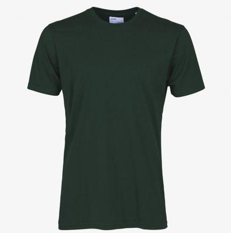 Tee-Shirt Classic Organic Colorful Standard Hunter Green