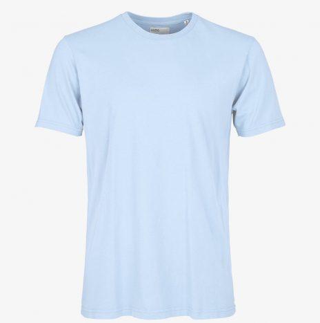 Tee-Shirt Classic Organic Colorful Standard Polar Blue