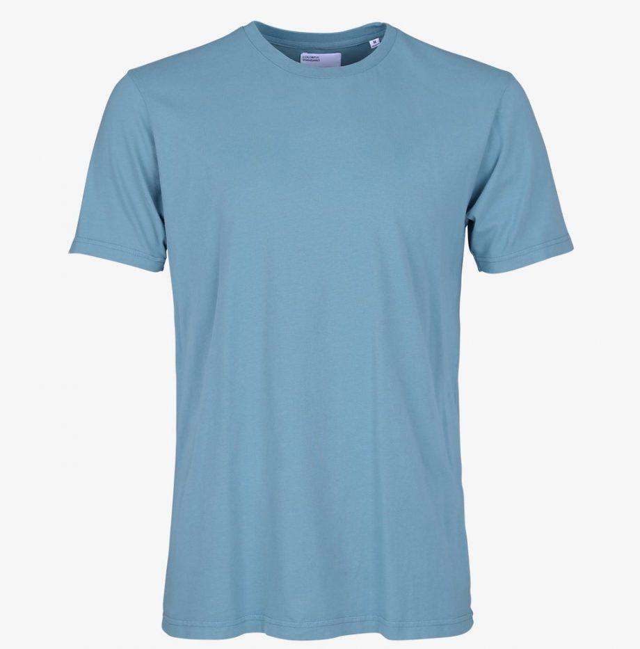 Tee-Shirt Classic Organic Colorful Stone Blue