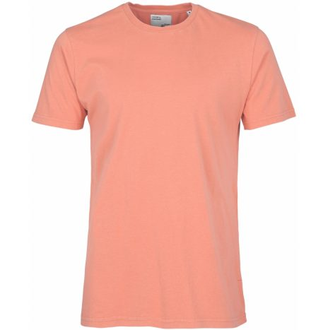Tee-Shirt Classic Organic Colorful Standard Bright Coral