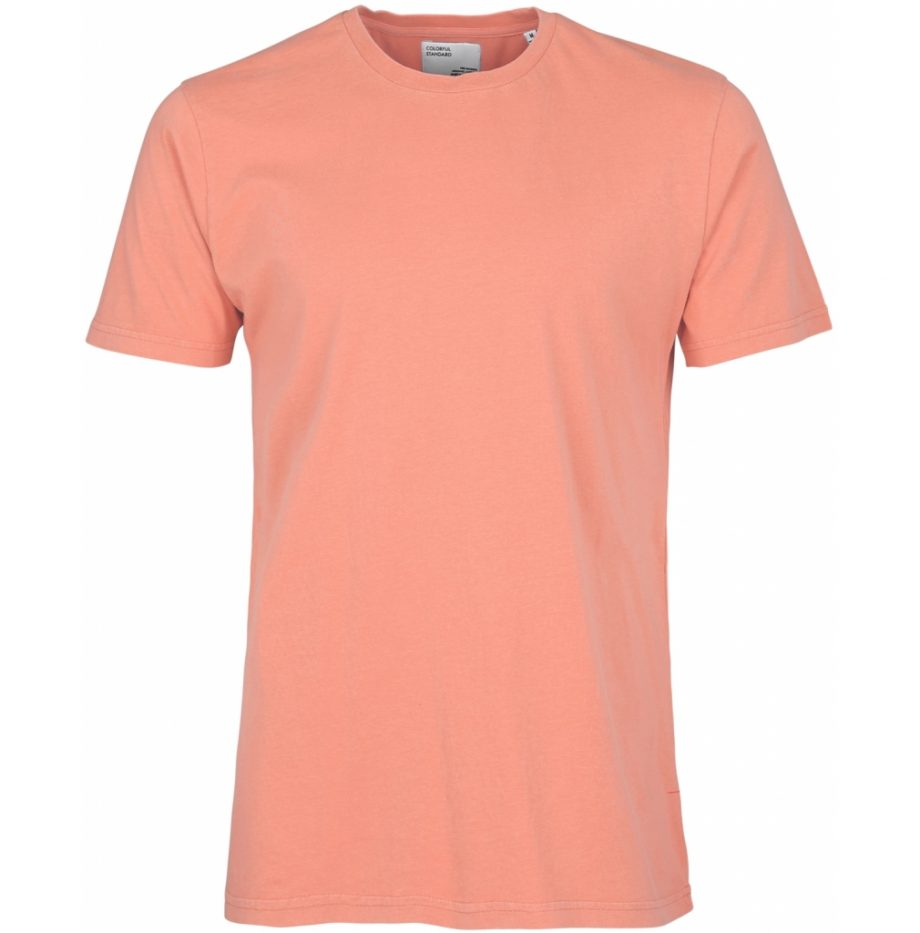 Tee-Shirt_Classic_Organic_Colorful_Bright_Coral