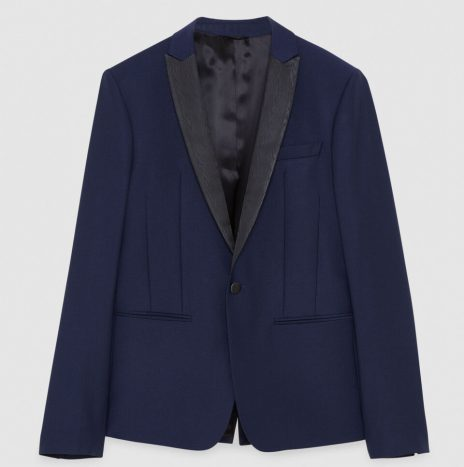 Veste Col Smocking Patrizia Pepe Royal Navy