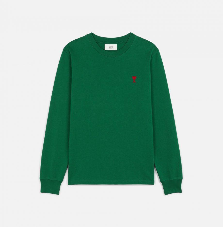 T-shirt manche longue Ami de Coeur Vert