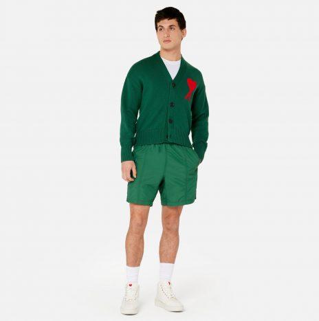 Cardigan Oversize Ami de Coeur Vert