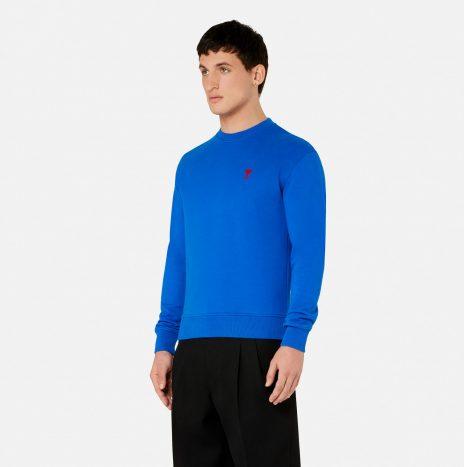 Sweatshirt Ami de Coeur Bleu Roi