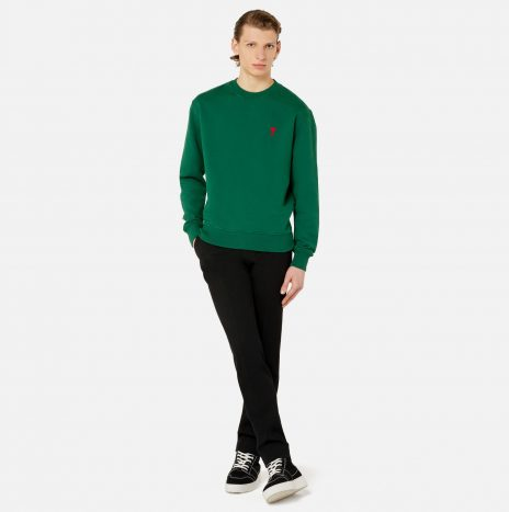 Sweatshirt Ami de Coeur Vert