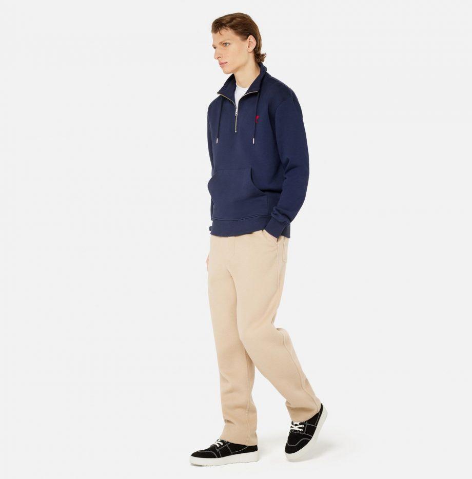 Sweatshirt_Zippe_Ami_de_Coeur_Marine