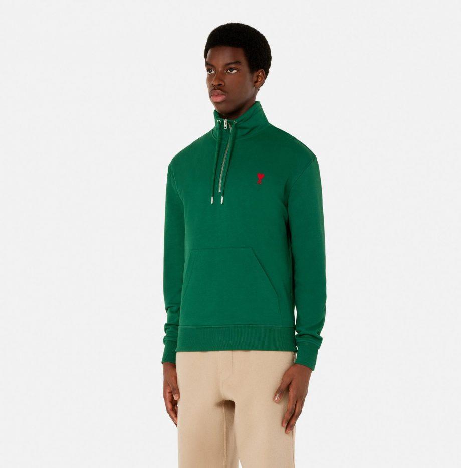 Sweatshirt_Zippe_Ami_de_Coeur_Vert_3
