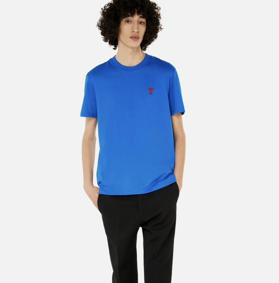 T_Shirt_Ami_de_Coeur_Bleu_Roi