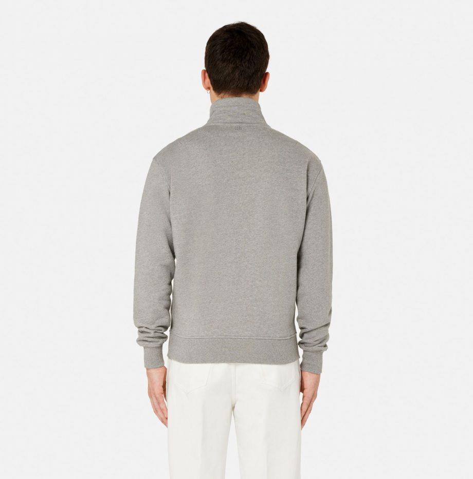 Sweatshirt_Zippe_Ami_de_Coeur_Gris_Chiné_4
