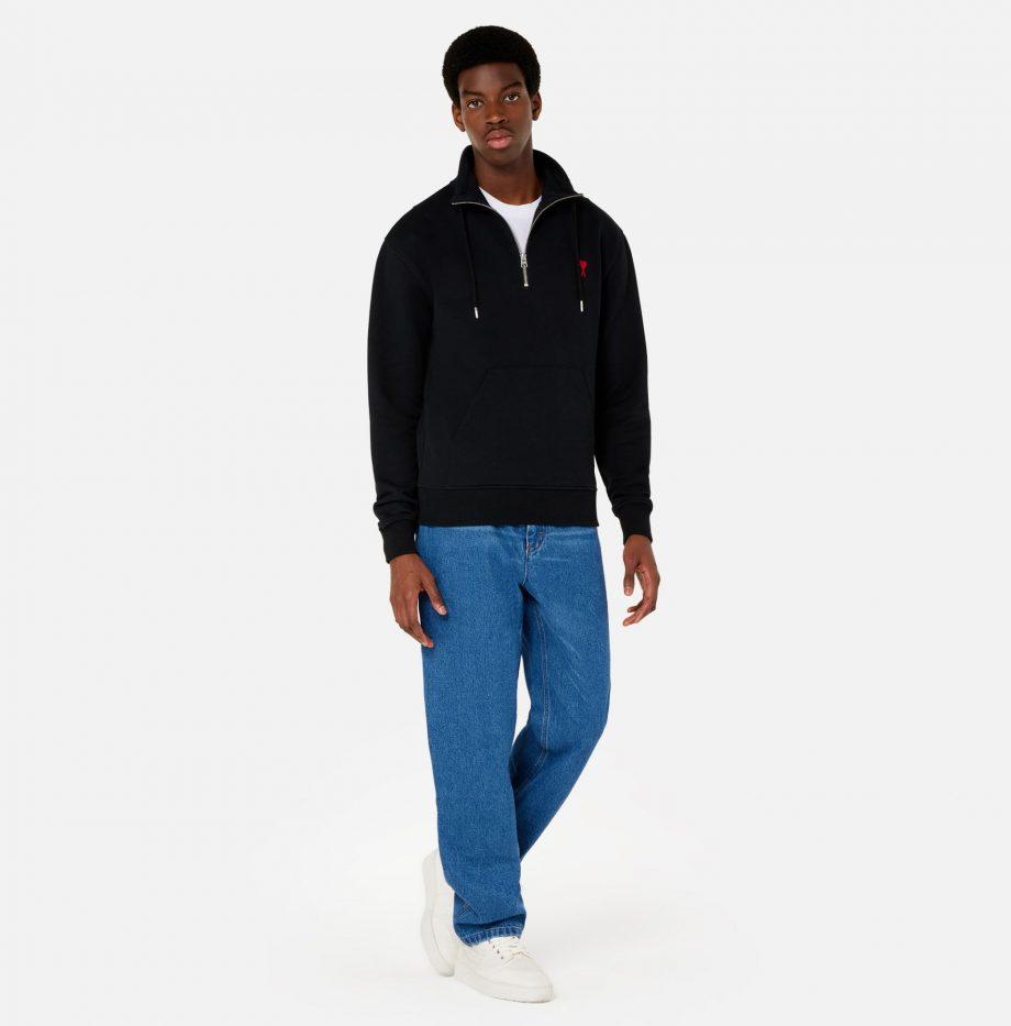 Sweatshirt_Zippe_Ami_de_Coeur_Noir