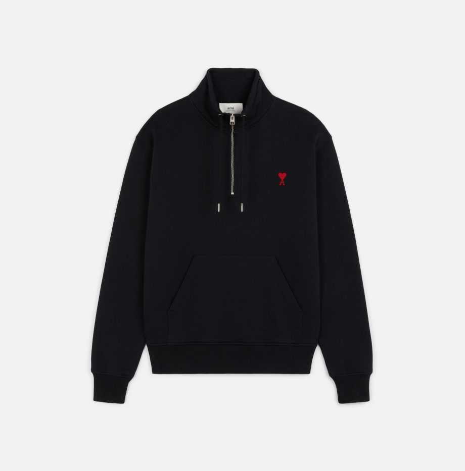 Sweatshirt_Zippe_Ami_de_Coeur_Noir_2