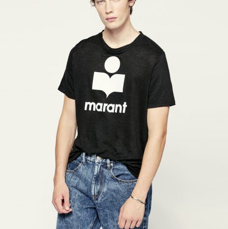 Tee-Shirt Karman Isabel Marant Noir