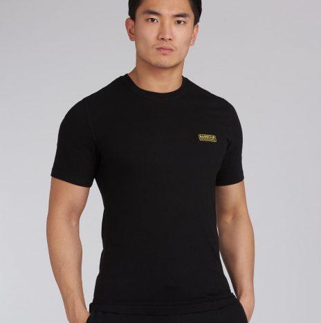Tee-Shirt Small Logo Barbour International Black