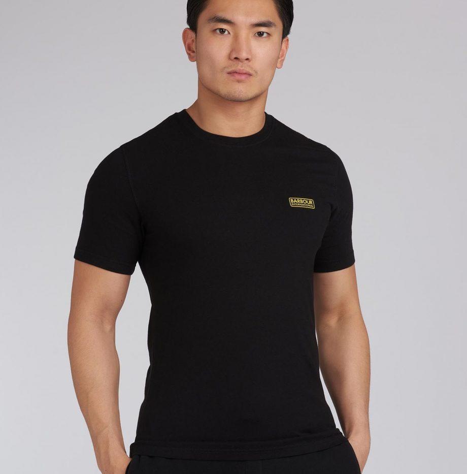 Tee-Shirt_Small_Logo_Barbour _nternational_Black