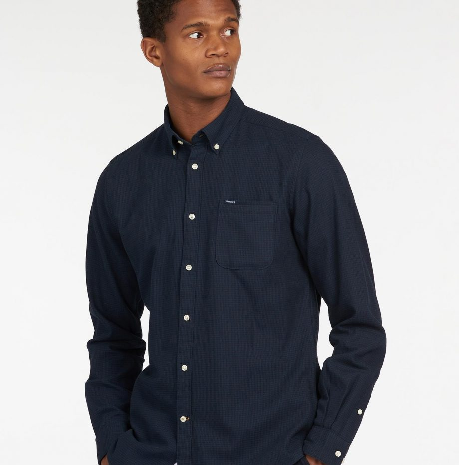 Chemise_Coalford_Barbour_Navy