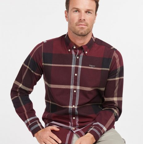 Chemise Iceloche Barbour Winter Red