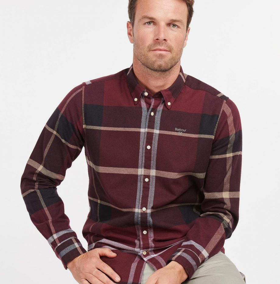 Chemise_Iceloche_Barbour_Winter_Red