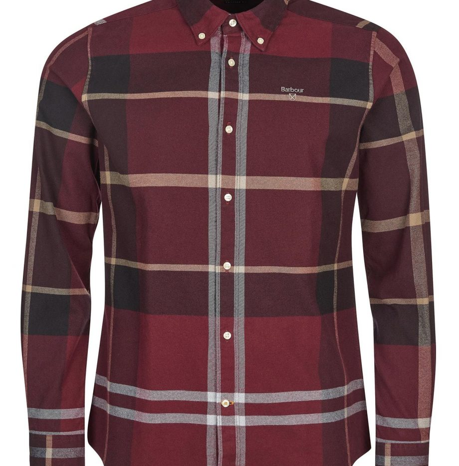 Chemise_Iceloche_Barbour_Winter_Red_2