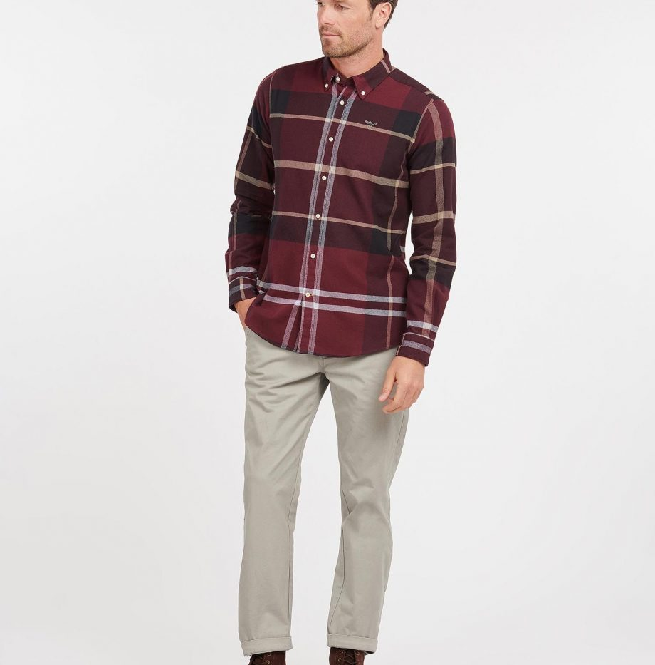 Chemise_Iceloche_Barbour_Winter_Red_5