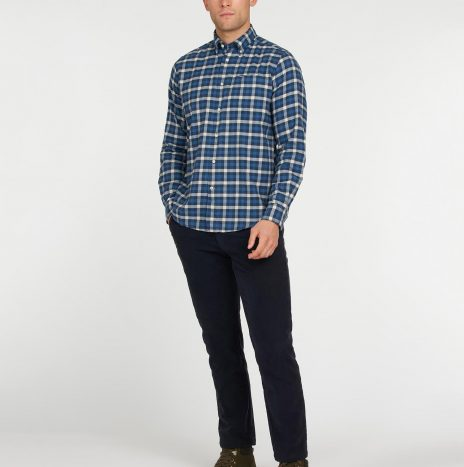 Chemise Rothe Barbour Navy