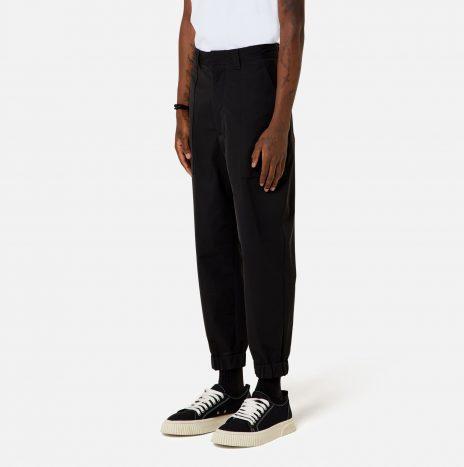 Pantalon Chevilles Elatiquées Ami Paris Black