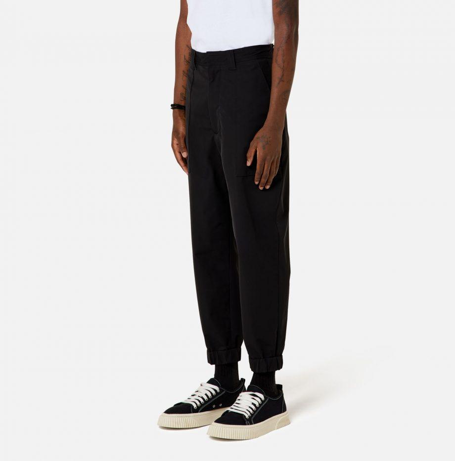 Pantalon_Chevilles_Elatiquées_Ami_Paris_Black