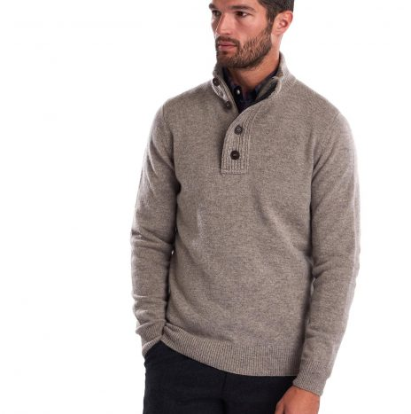 Pull Barbour Patch Half Stone