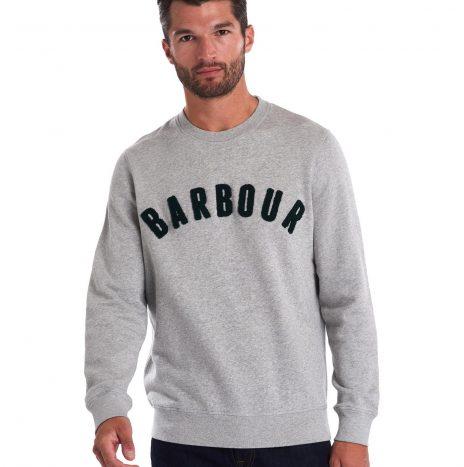 Sweat Barbour Prep Logo Grey Marl