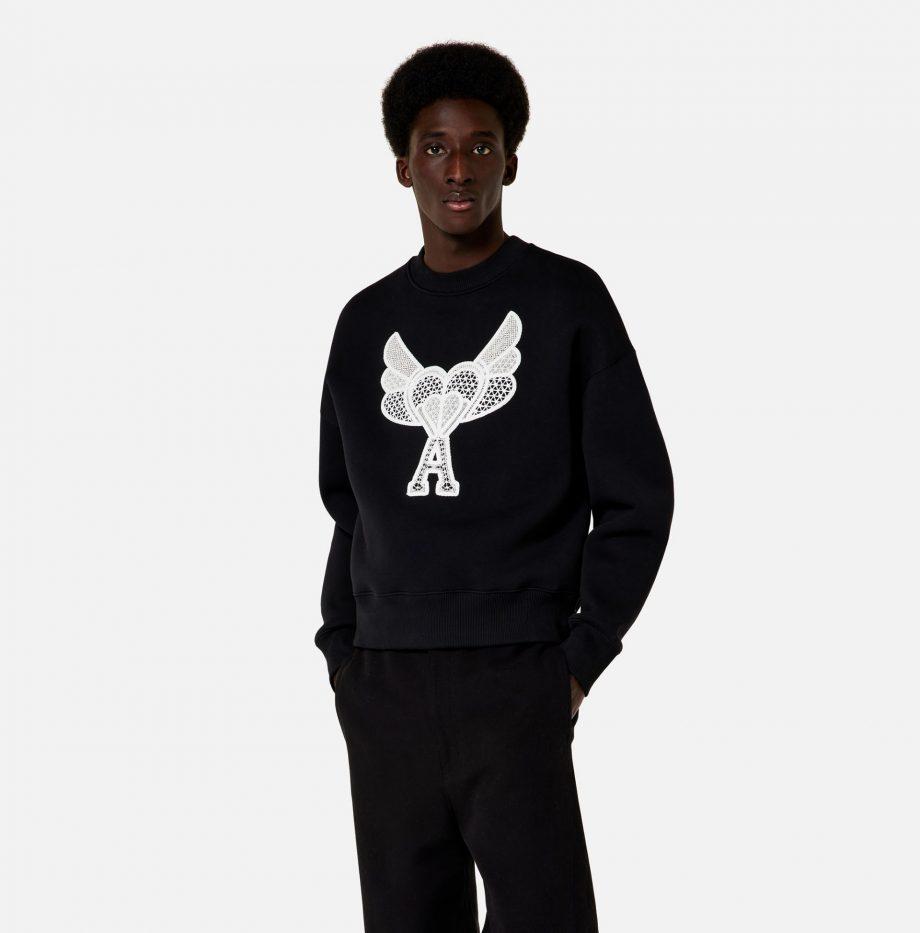 Sweatshirt_Ami_de_Coeur_Dentelle_Noir_2