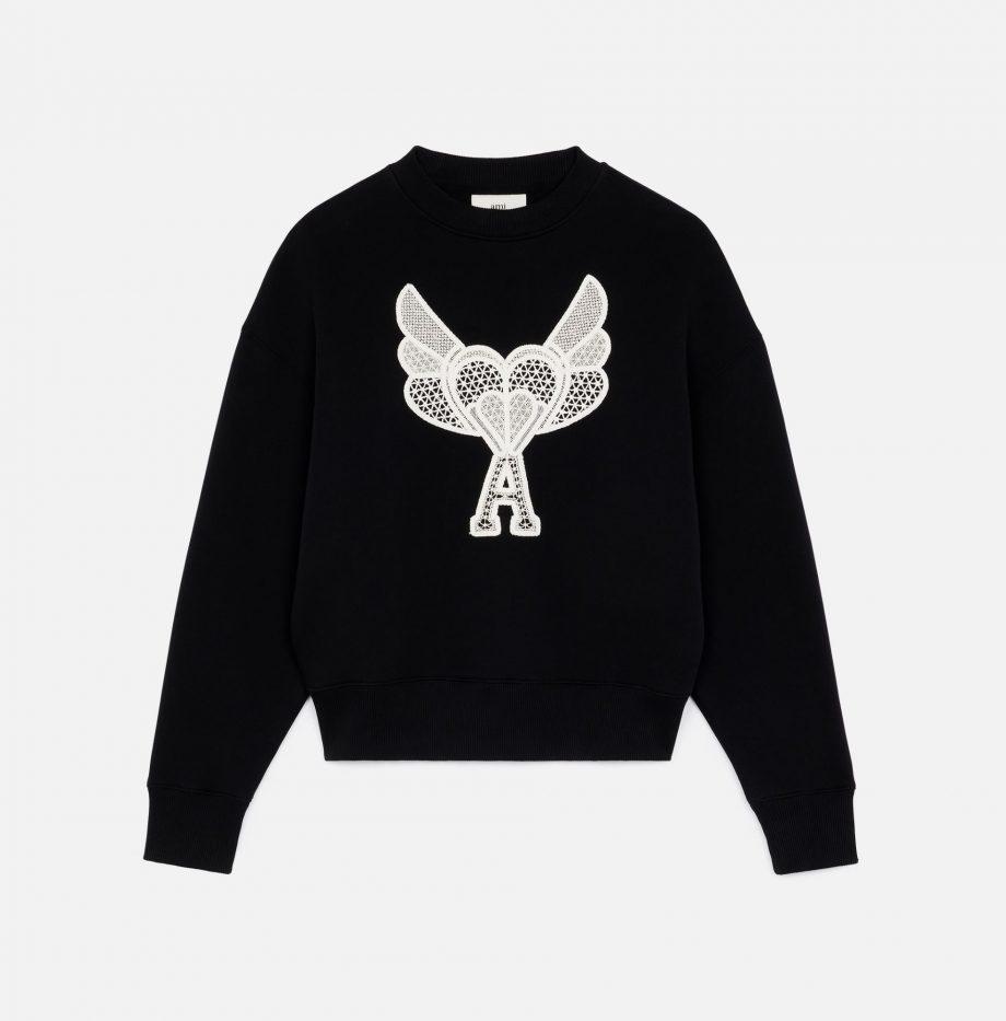 Sweatshirt_Ami_de_Coeur_Dentelle_Noir_4