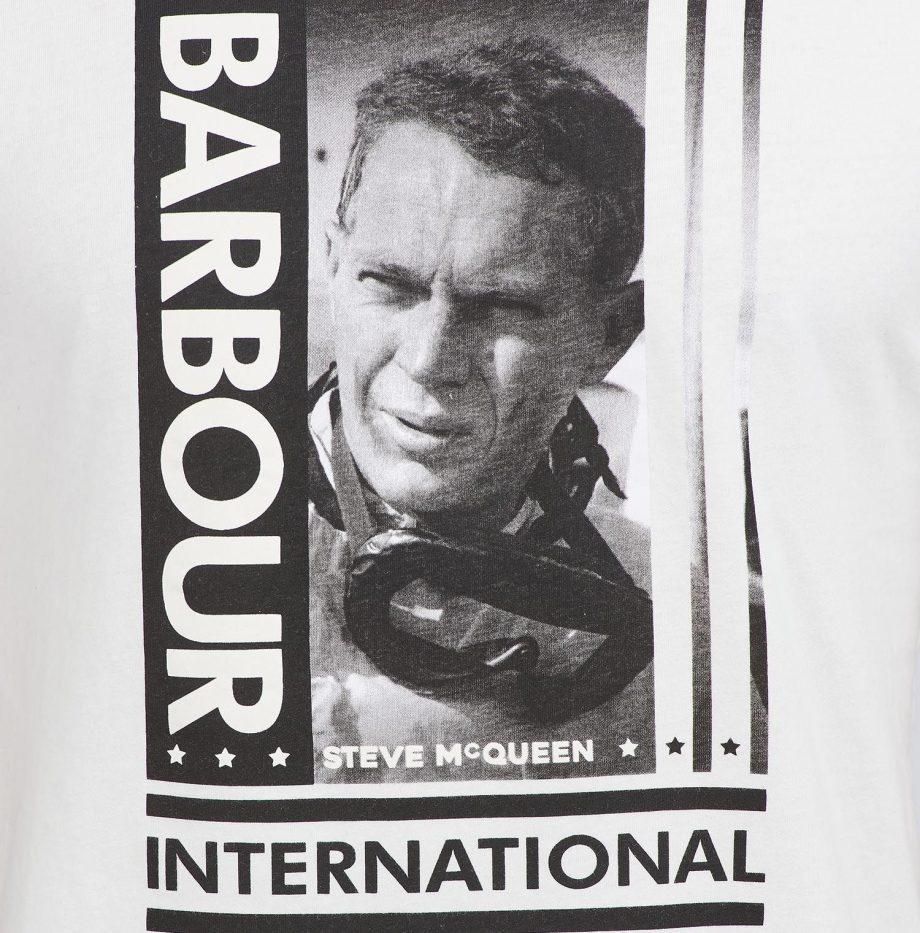 Tee-Shirt Goggles STEVE MCQUEEN™ Barbour Whisper White
