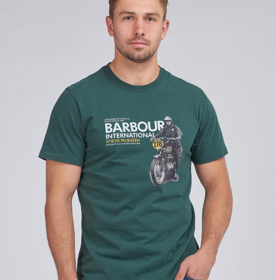 Tee-Shirt_Side_STEVE_MCQUEEN™_Barbour_Deep_Green