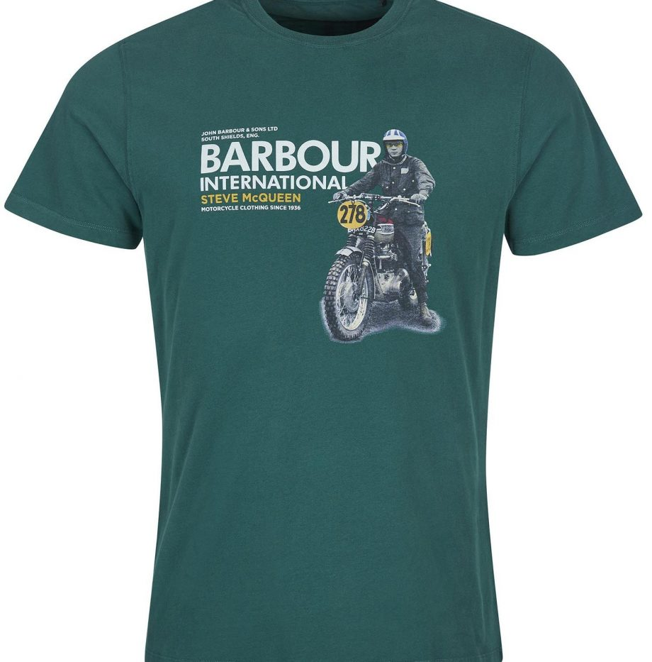 Tee-Shirt_Side_STEVE_MCQUEEN™_Barbour_Deep_Green_2
