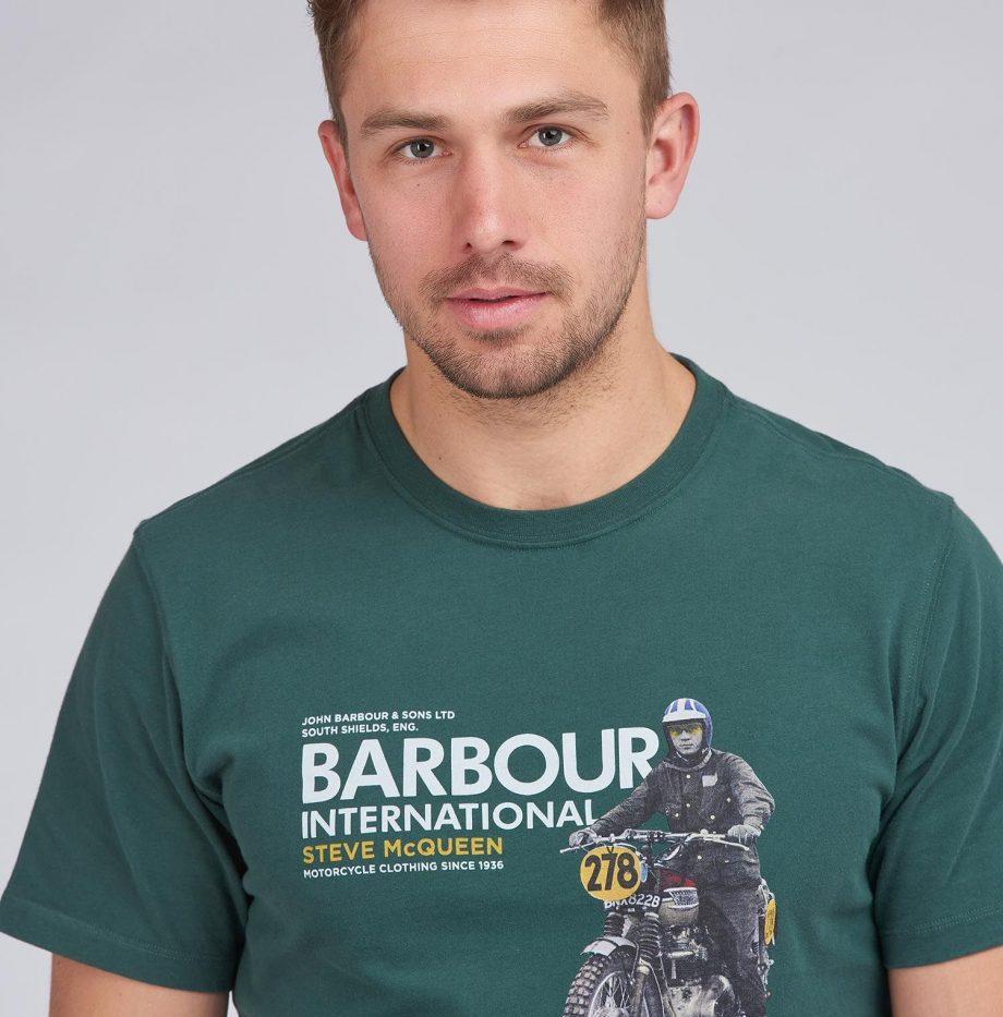 Tee-Shirt_Side_STEVE_MCQUEEN™_Barbour_Deep_Green_4