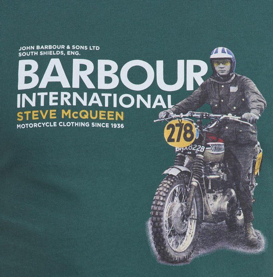 Tee-Shirt_Side_STEVE_MCQUEEN™_Barbour_Deep_Green_5