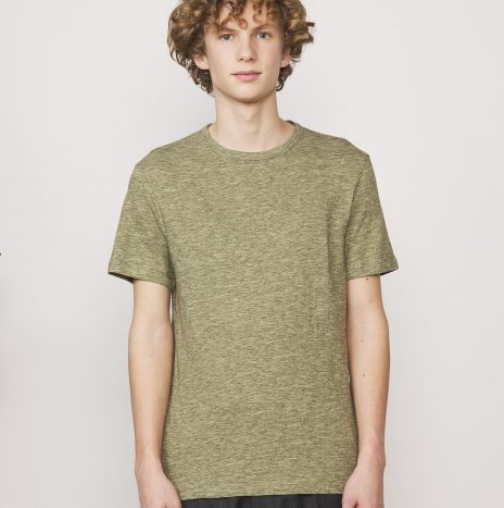 Tee-shirt Cotton Jersey Officine Générale Olive