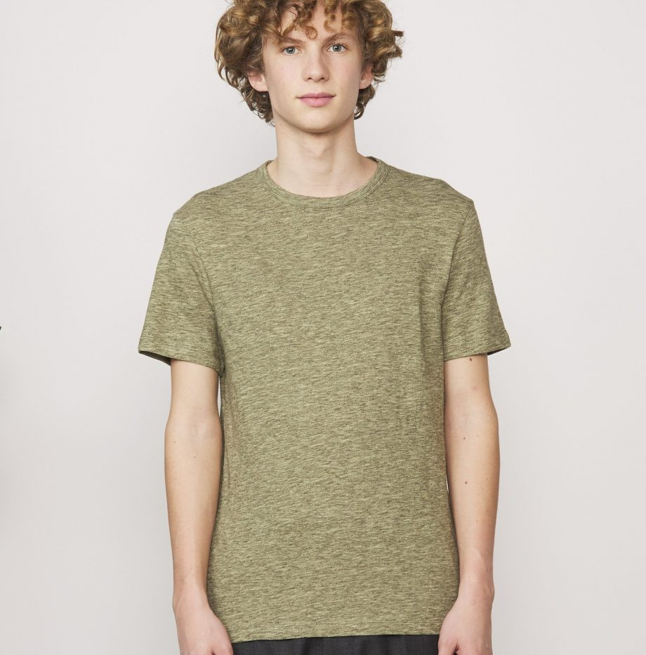 Tee-shirt_Cotton_Jersey_Officine_Générale_Olive