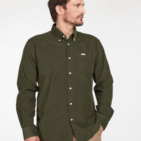 Chemise Velours Ramsey Barbour Forest