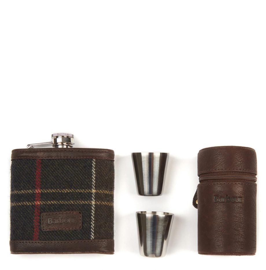 Flask_Barbour_Hip_Flask_and_Cup_Tartan