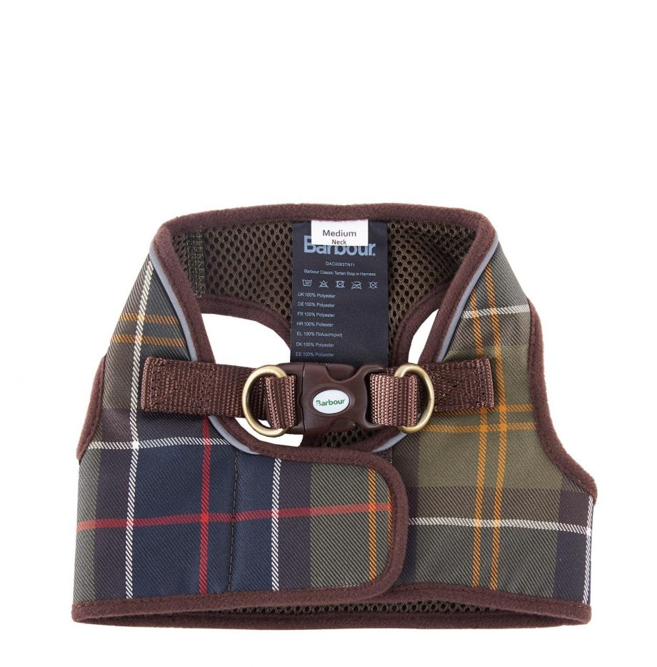 Harnais_Step_In_Dog_Harness_Barbour_Classic_Tartan_2